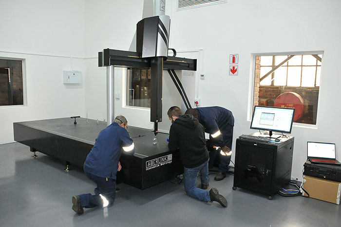 Aberlink Azimuth CNC CMM supplied to Simmer Engineering by Caldeaz Manufacturing Technologies